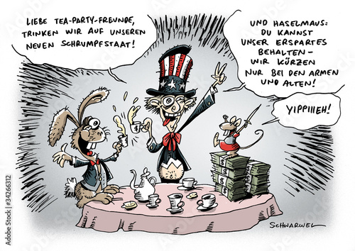 Fotografía  USA Schrumpfstaat durch Einigung in Schuldefrage