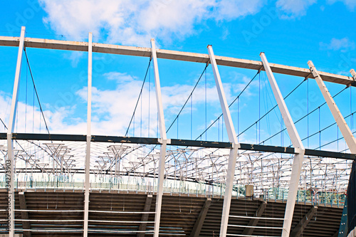 Foto op Plexiglas Stadion stadium construction