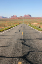 Ouest Usa Route Monument Valley Road