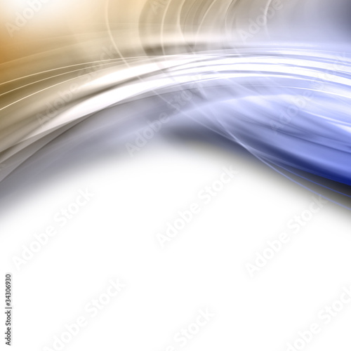 Fotobehang Fractal waves abstract elegant background design with space for your text