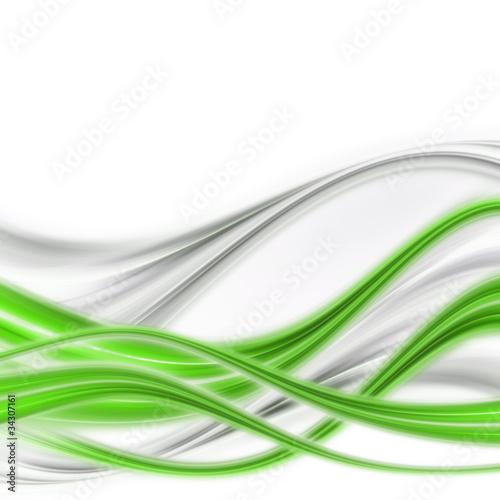 Obrazy abstrakcyjne elegancka-abstrakcja-w-kolorze-zielonym