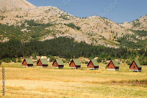 ecotourism in mountains(Montenegro) Slika na platnu