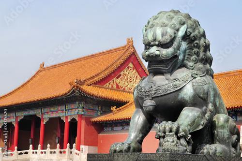 Foto op Aluminium Beijing Forbidden City, Beijing China