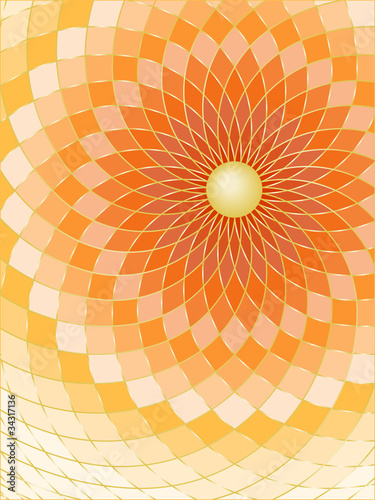 Poster Psychedelic Abstract background