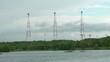 Huge aerials of a radio communication