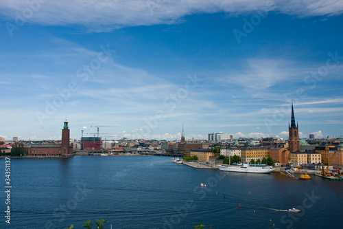 Photo  Stockholm view