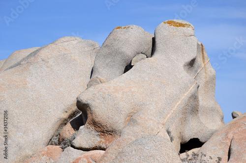 Promontorio di Capo Testa - Sassi scolpiti dal vento Canvas Print