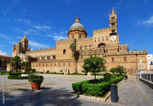 Photo sur Toile Palerme Palermo Cathedral, Sicily