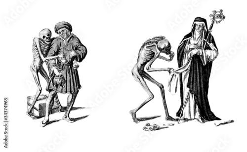 Danse Macabre 1 Canvas Print