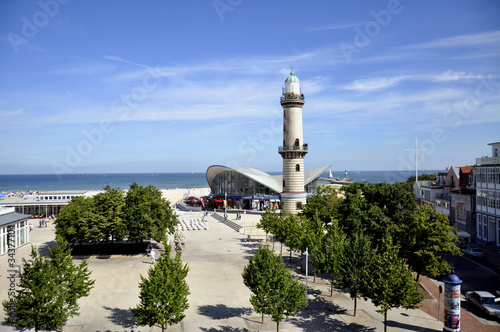 Fotografía  Warnemünde Leuchtturm