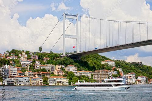 Fotografia  Bridge on the Bosphorus Strait