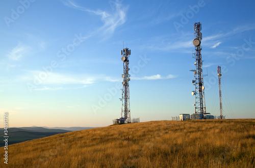 communication tower Fototapeta
