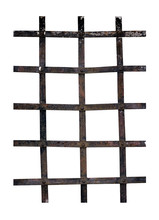 Old Iron Window Bars - Prison,...