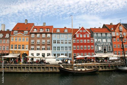 port de nyhavn copenhague danemark 3 Wallpaper Mural
