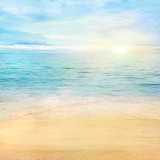 Sea and sand background - 34413186