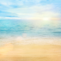 Obraz Sea and sand background