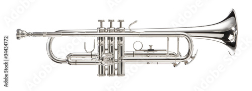 Silver Trumpet Fototapeta