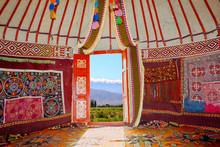 Kazakh Nomads Dwelling