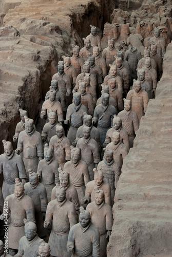 Papiers peints Xian Armée de terre cuite, Chine 02