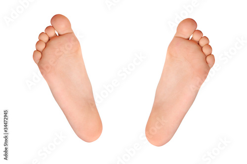 Fotografie, Obraz  stopy dziecka