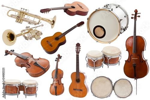 Fotomural Musical instruments