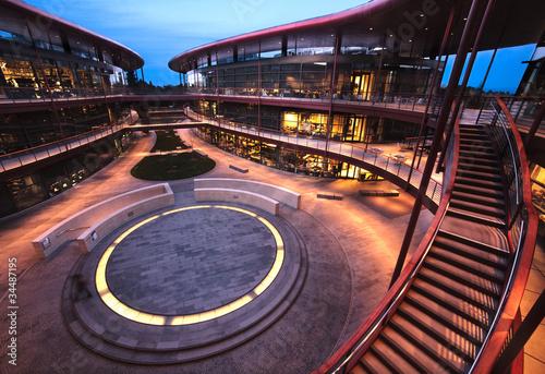 Fotomural Stanford Clark Center