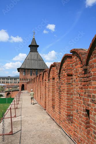 Spoed Foto op Canvas Zuid-Amerika land Tula Kremlin (Fortress), Russia