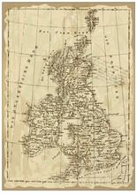 Old British Map