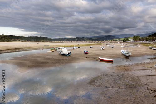 Fotografie, Obraz  Ria de San Vicente de la Barquera