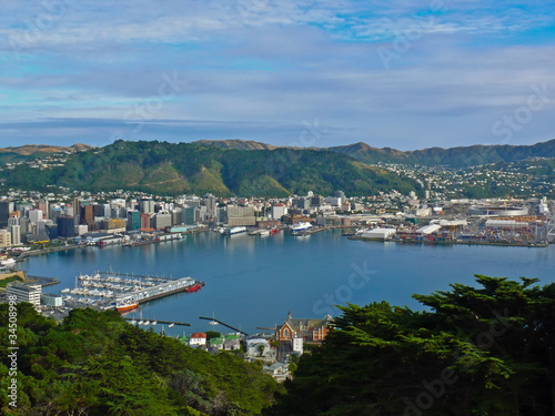 Wellington Harbor, New Zealand