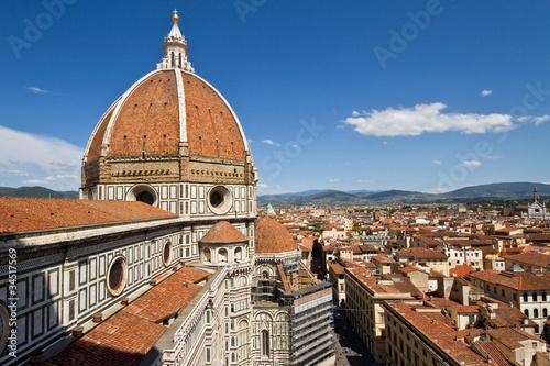 Deurstickers Florence Florenz