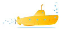 Yellow Submarine For Kids Fun