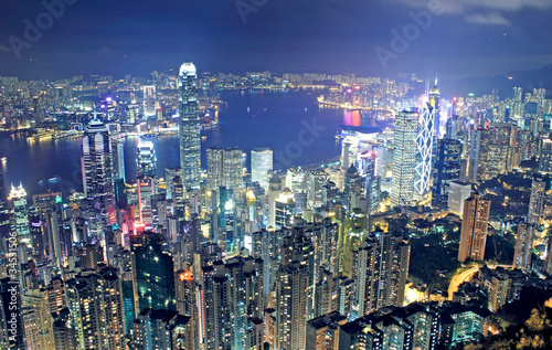 Photo  hongkong night