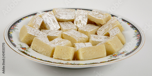 Printed kitchen splashbacks Dairy products sweets for diwali