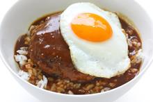 Loco Moco , Hawaiian Rice Bowl...