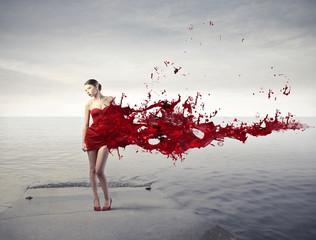 Czerwone piękno