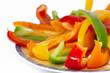 Assiette de beaux légumes