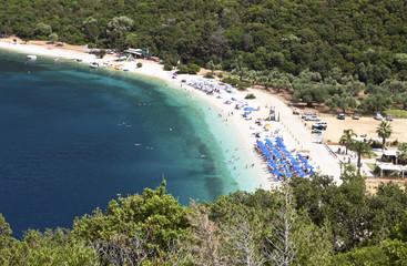 Beach of 'Antisamos' at Kefalonia island in Greece