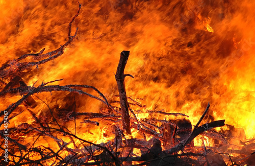 Photo flames