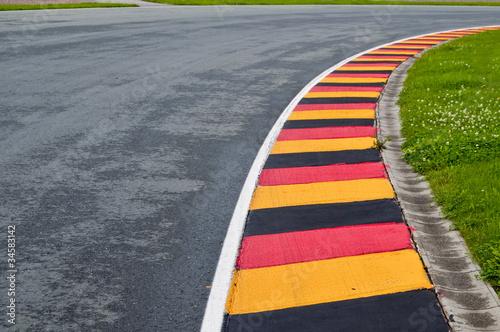 Sachsenring Curbs 1