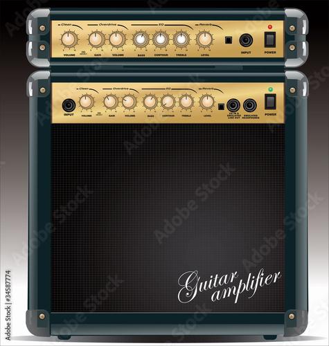 Stampa su Tela Guitar Combo Amplifier