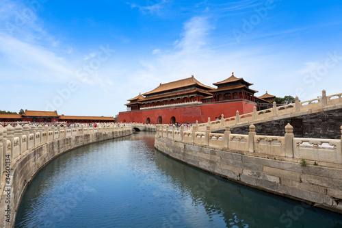 Foto op Aluminium Beijing the forbidden city