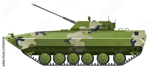 Deurstickers Militair Infantry fighting vehicle