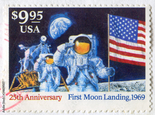 Fotografia  Moon Landing