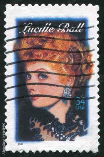 Lucille Ball Canvas Print