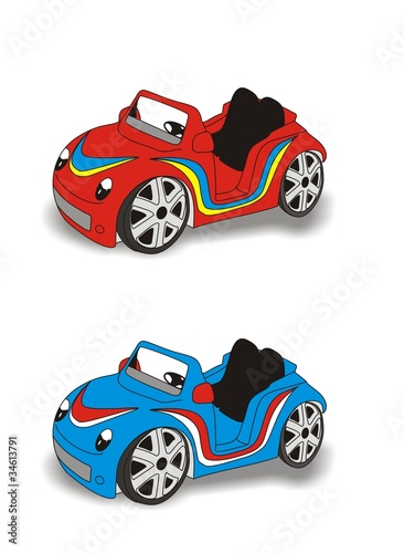 Deurstickers Cars cars