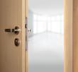 Home with open doors