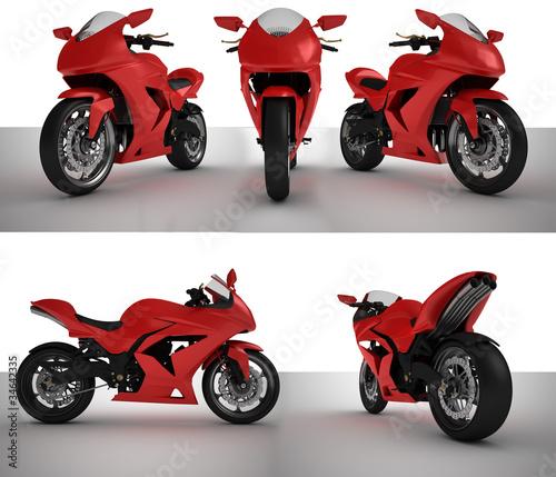 Poster Motocyclette SuperBike Prototype Bundle lowres