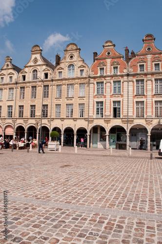 Photo Place des Heros, Arras, France