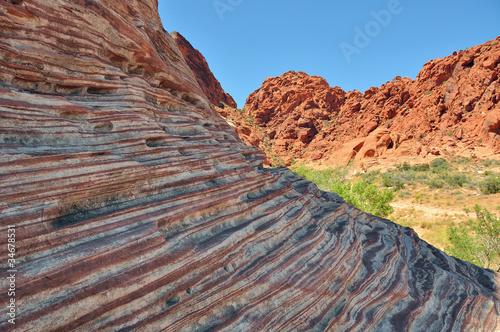 Keuken foto achterwand Rood traf. Red Rock Canyon